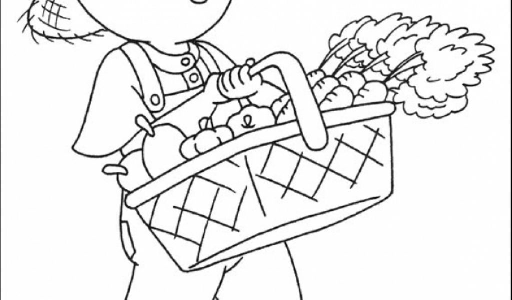 Get This Printable Caillou Coloring Pages Online 4auxs