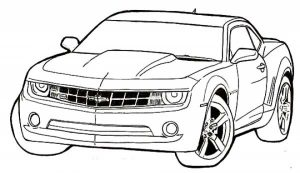 Printable Car Coloring Page   87126