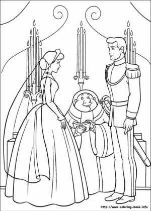 Printable Cinderella Coloring Pages   14694