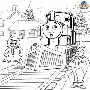 Printable Coloring Pages of Thomas the Train   317259