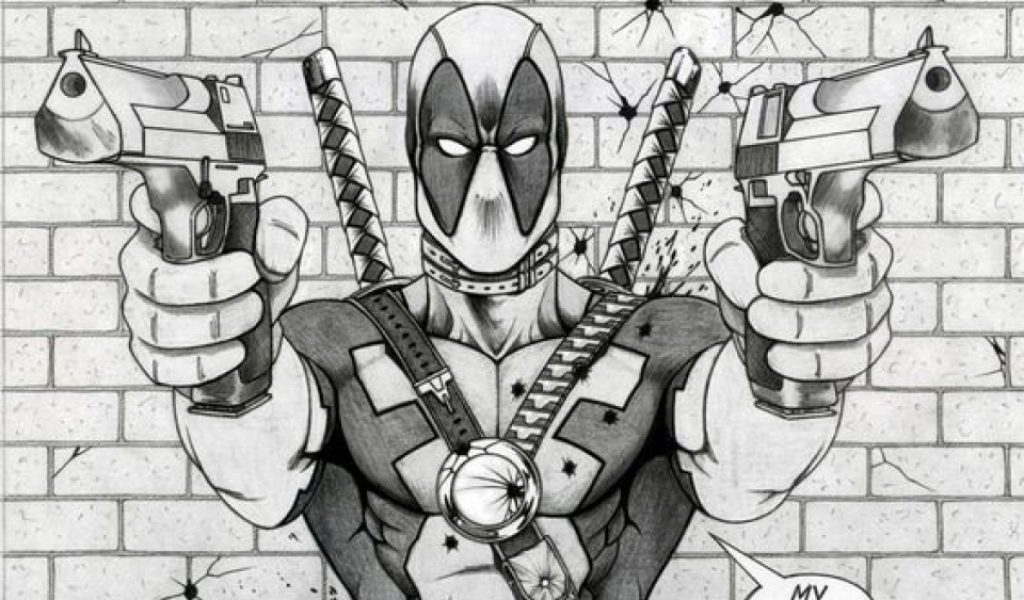 Get This Printable Deadpool Coloring Pages Online 781016: Get This Printable Deadpool Coloring Pages Online 711868