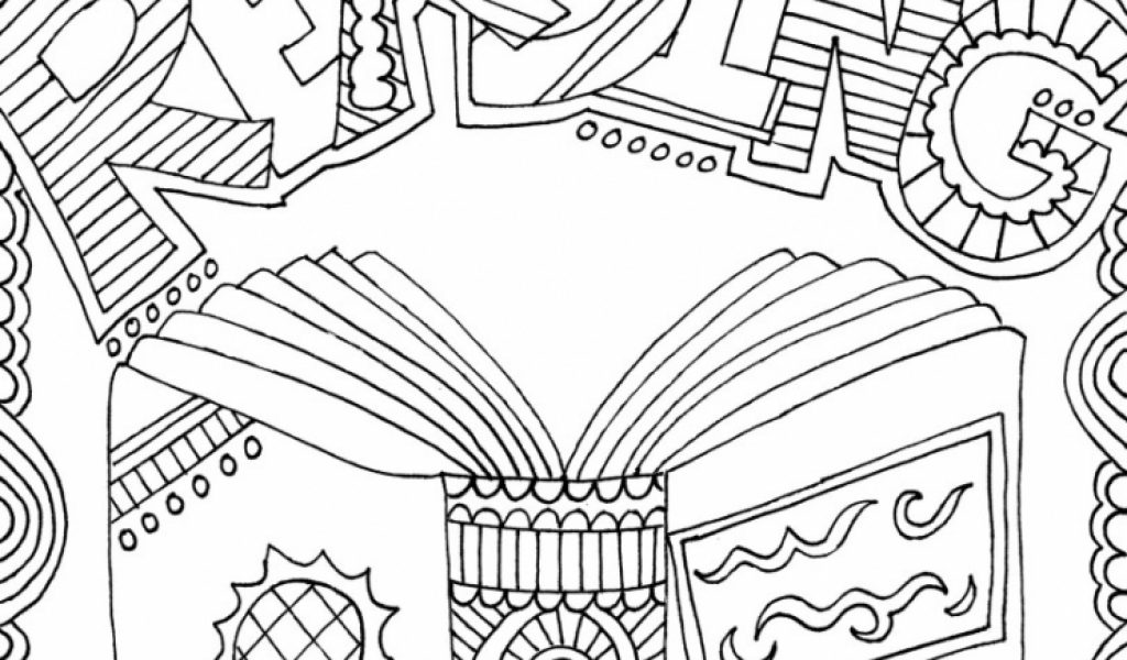 Get This Printable Doodle Art Coloring Pages For Grown Ups 6796V