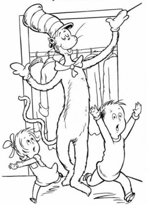 Printable Dr Seuss Coloring Pages   6369