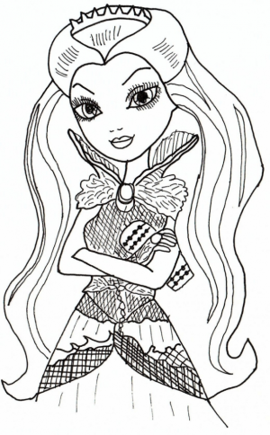 Printable Ever After High Coloring Pages   42472