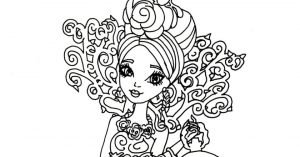 Printable Ever After High Coloring Pages Online   17696