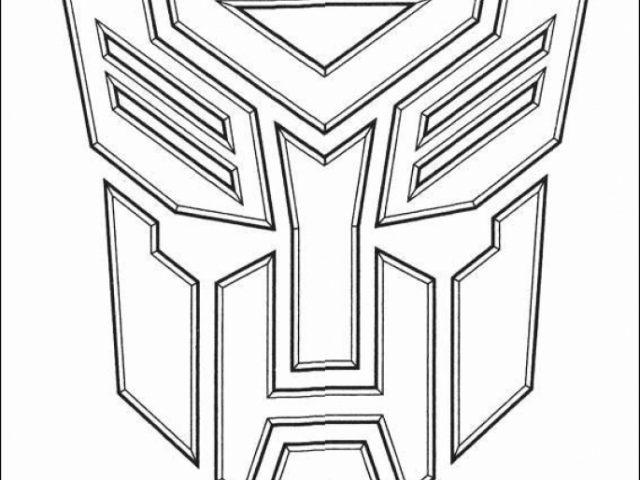 optimus prime coloring pages okids com - Optimus Prime Face Coloring Pages