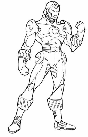 Printable Ironman Coloring Pages   73400
