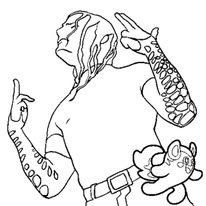 Printable Jeff Hardy Coloring Pages Online   dabc5