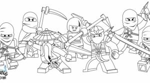 Printable Lego Ninjago Coloring Pages   952210