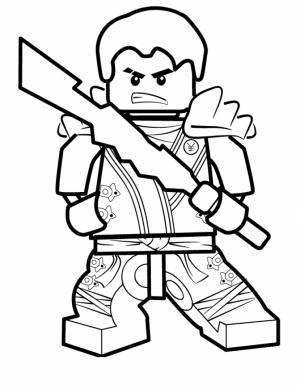 Printable Lego Ninjago Coloring Pages Online   106086