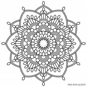 Printable Mandala Coloring Pages For Adults Online   32651