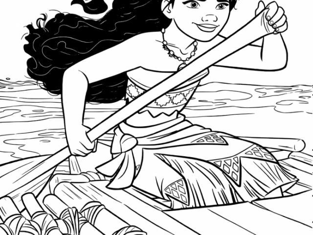Get This Printable Moana Coloring