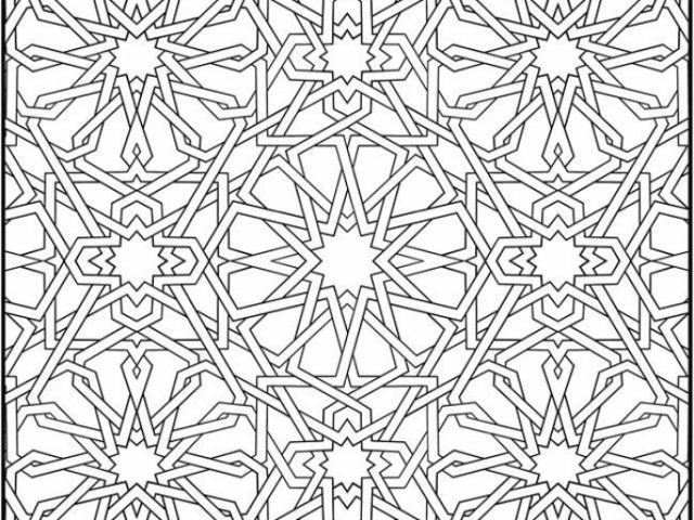 Get This Printable Mosaic Coloring Pages 87126