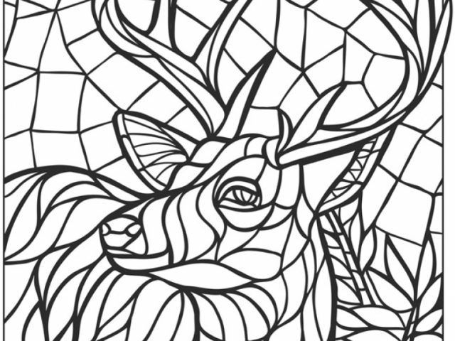 Get This Printable Mosaic Coloring Pages Online 34394