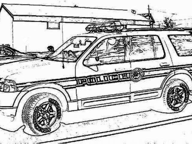 cop car coloring pages miakenas net