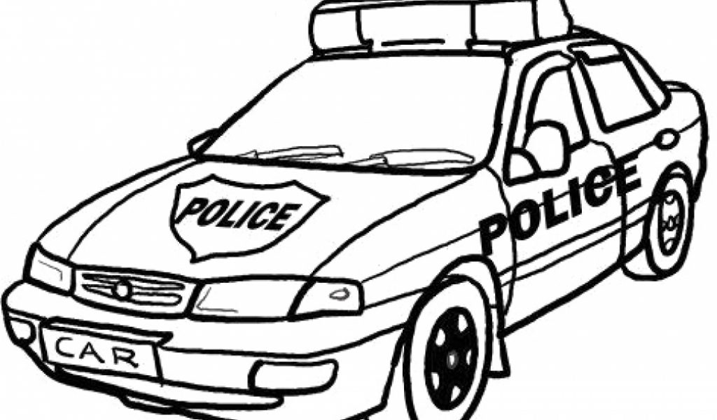 printable police car coloring pages 58425