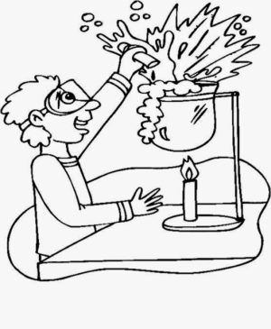 Free Printable Science Coloring Pages Online Mnbb With Lps