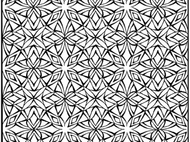 Get this printable tessellation coloring pages free 2v58c for Mc escher tessellations coloring pages