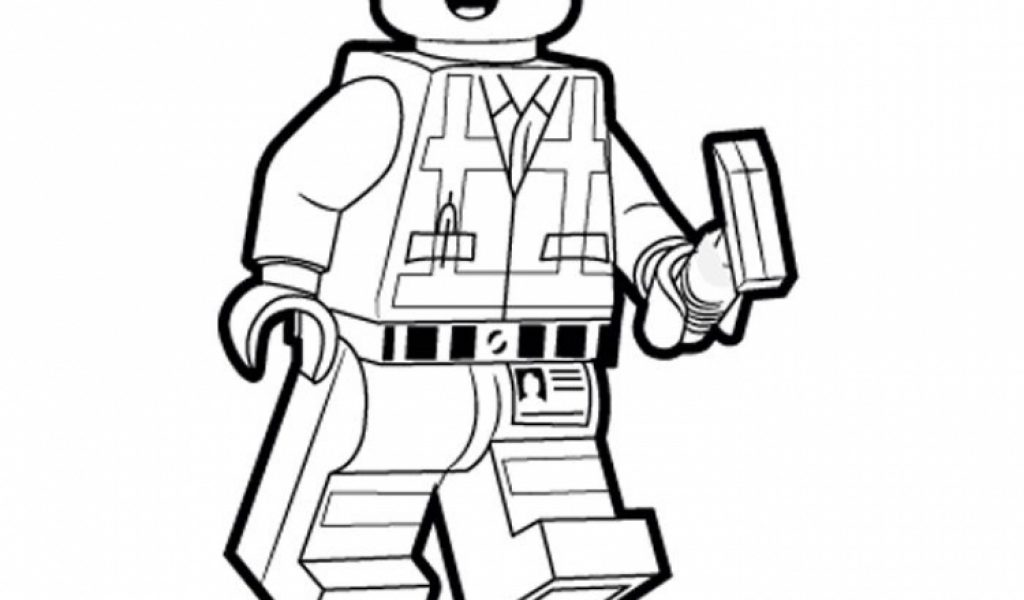 Get This Printable The Lego Movie Coloring Pages Online ...