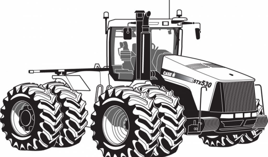 Get this printable tractor coloring pages 01827 for Tractor coloring pages to print