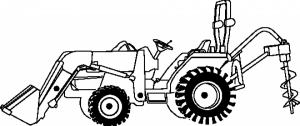 Printable Tractor Coloring Pages Online   59808