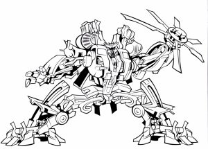 Printable Transformers Robot Coloring Pages for Boys   67891