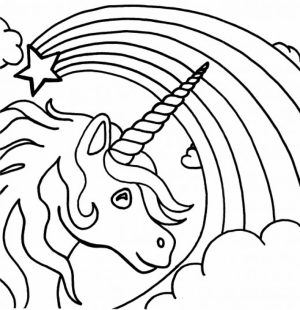 Printable Unicorn Coloring Pages   29255