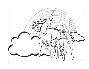 Printable Unicorn Coloring Pages Online   59307
