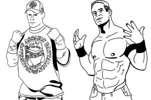 Printable WWE Coloring Pages   23601