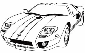 Race Car Coloring Pages Free Printable   45zv2