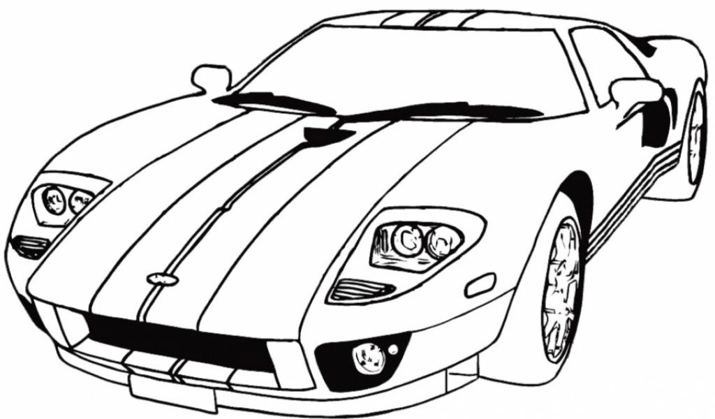 race car coloring pages free printable 45zv2 - Free Printable Car Coloring Pages