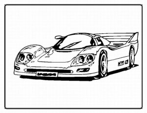 Race Car Coloring Pages to Print   41zce