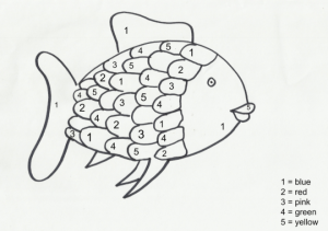 Rainbow Fish Coloring Pages for Preschoolers   361537
