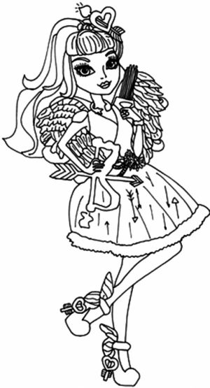 Royal Rebels Ever After High Girl Coloring Pages Printable   GY94B