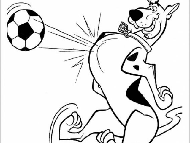 Get This Scooby Doo Coloring Pages Free Printable 86955
