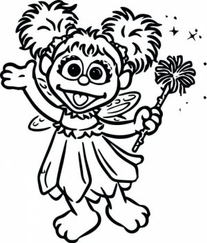 Sesame Street Coloring Pages for Kids   g225al