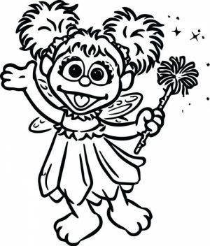 Sesame Street Coloring Pages for Kids   g225al