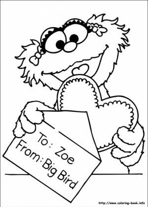 Sesame Street Coloring Pages Printable   ga3n