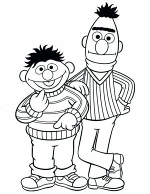 Sesame Street Coloring Pages to Print   qat3b