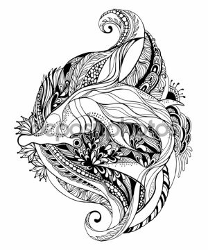 Shark Coloring Pages for Adults   65310