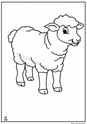 Sheep coloring pages to print   wats49