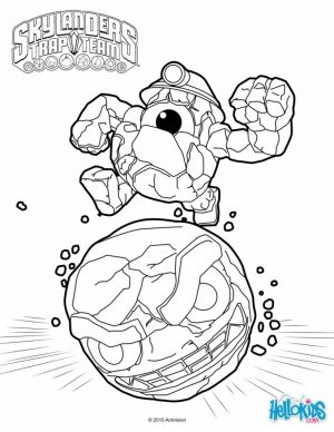 Skylander Coloring Pages Printable   16647