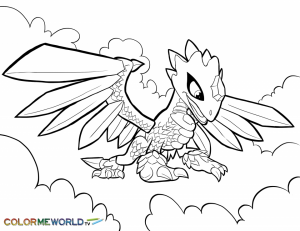 Skylander Coloring Pages to Print   75831