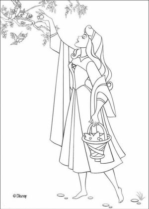 Sleeping Beauty Coloring Pages for Girl   8ercn