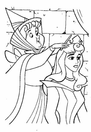 Sleeping Beauty Coloring Pages Princess Aurora   8wgsy
