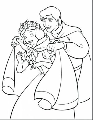 Snow White Coloring Pages for Girls   utm07