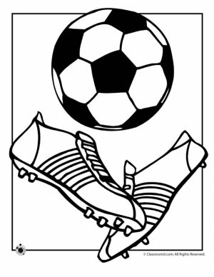 Soccer Coloring Pages for Kids   4dht0