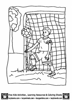 Soccer Coloring Pages Free   5cbrm