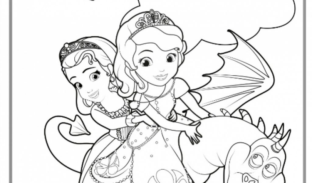 Get this sofia the first coloring pages free printable 78426 for Free printable sofia the first coloring pages