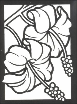 Stained Glass Coloring Pages Free Printable   16479